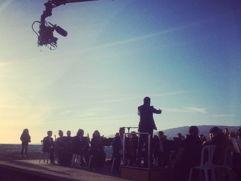 Vodafone #first ·Orchestra by the sea·